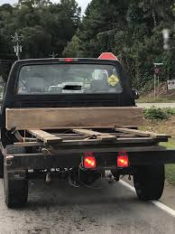 100 Wood Truck Beds DIY Truck Bed Made From A Wooden Pallet And Bungeed To The Chassis