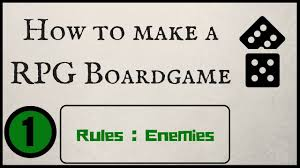 How To Make A RPG Board Game
