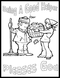 Coloring Pages For Matthew 6 Bible Free