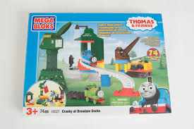 Thomas And Friends Tidmouth Sheds Australia by Thomas And Friends Cranky At Brendam Docks Mega Bloks 10527