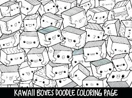 Coloring Pages Kawaii Free Printable Cute Colouring Spectacular Food With C