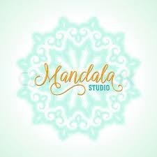 Winter Background For Christmas Card Concept Design Of Round Ornamental Mandala Yoga Studio Indian Arabic Or Thai Cuisine Restaurant Tattoo Salon