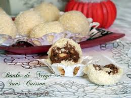 gateau algerien boulettes a la noix de coco amour de cuisine