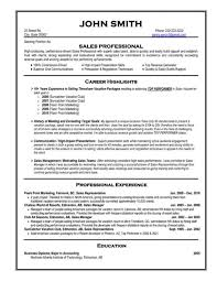 Resume Format Professional Sales R Cool Best For It Famous Like Inmyownview