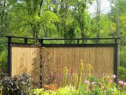 Decorative Garden Fence Panels by Bamboo Fence For Your Decorative Backyard U2014 All Home Design Solutions
