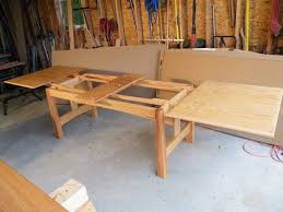 Refectory Table Or Dutch Pullout By Jeepersparky Lumberjocks Com Woodworking Community For My Husband