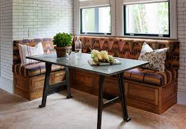 Dining RoomBreakfast Nook Design Idea With Tribal Pattern And Brick Walls Astonishing Breakfast Room