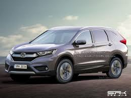 Next Gen 2017 Honda CR V Rendering