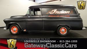 100 Chevrolet Panel Truck 1956 Louisville Showroom Stock 1129