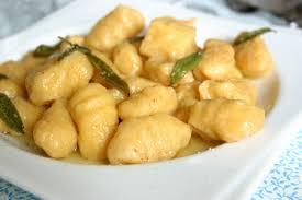sauge cuisine recettes recette gnocchis de butternut au beurre de sauge cuisinez gnocchis