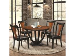 Coaster Boyer Contemporary 5 Piece Table And Chair Set With Two-Tone ... Whitesburg Ding Room Side Chair Set Of 2 D58302 Signature Nevada Breakfast Table And Two Chairs Hamilton Home Sanctuary 3 Piece Pedestal Windsor Amazoncom Best Choice Products 3piece Wooden Kitchen Raleigh Light Blue Fabric In 2018 Standard Fniture Fairhaven Rustic Twotone Contemporary With Glass Top And Bas Rectangular Joveco Modern Two Orange Klaussner Outdoor Mesa W7502 Drc 37 Of 4 Zenwillcom Gs Riverside 7 Rectangle Slat Back Abstract Designed