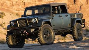 Insider Says Convertible Jeep Scrambler Pickup Is Coming In 2019 ...