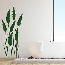 wandtattoo wandsticker wandaufkleber gras badezimmer pasgras gräser wt156 ebay