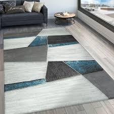 wohnzimmer teppich modern 3 d muster kurzflor