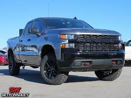 100 4x4 Chevy Trucks For Sale 2019 Silverado 1500 Custom 4X4 Truck In Pauls