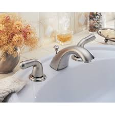Delta Trinsic Widespread Bath Faucet by Delta 3530lf Classic Widespread Bathroom Faucet Includes Drain