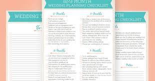 Wayfaring Wanderer 12 Month Wedding Planning Checklist