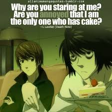 Death Note Quote L Lawliet Light Yagami Kira