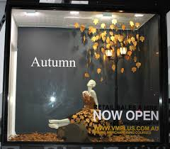 Another Fabulous Display Create By Our Students New Autumn Window