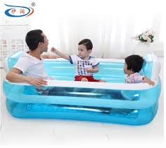 Inflatable Bathtub For Adults Online India by Size 152 108 60cm With Electric Pump Inflatable Bathtub Folding