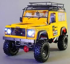 100 Land Rover Defender Truck RC 110 Hard Body Shell LAND ROVER DEFENDER 90 D90 W Interior V2