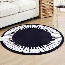 moderne kreative teppich klavier design sound absorbieren teppich pad vier jahreszeiten universal wohnzimmer tisch decke