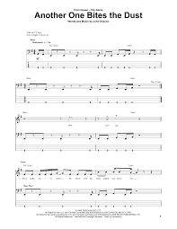 Rocket Smashing Pumpkins Tab by Another One Bites The Dust Bass Guitar Tab By Queen Bass Guitar