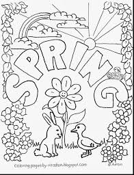 Fabulous Spring Coloring Pages With Printable And Free Easter