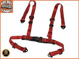 harnais siege baquet universal 4 point car racing seat belt harness ebay