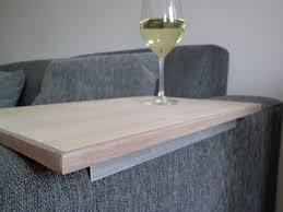 plateau de canapé plateau tablette pour accoudoir canapé canapé idées de