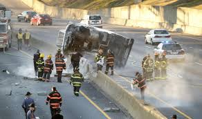 100 Ups Truck Accident Traffic Backups Cleared After I95 Wreck City Of Richmond