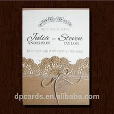 Latest Wedding Card Designslazer Cut Paper Invitations And Rustic