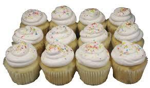 Home Baked Goods Cupcakes Regular White Dozen