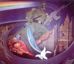 Denver International Airport Murals Meaning by Art At Dia U2013denver International Airport Dregs Of The Future