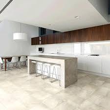 interior attractive porcelain tile with the look of travertine in