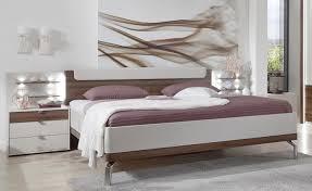 details zu wiemann catania bett bettgestell einzelbett doppelbett chagner absetzfarbe