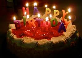 A birthday cake by CJ Sorg CC Flickr