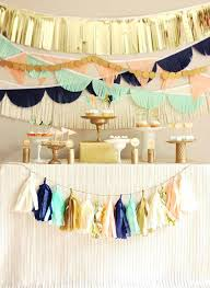 Charming Diy Party Centerpieces Awesome Backdrops Decorations Tissue Paper