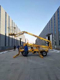 100 Truck Mounted Boom Lift US 89990 Diesel Power Boom Lift Aerial Work Lift Plaform 12m 14m Articulate Lift Truck Rotation 360in Pallet Jack From Automobiles Motorcycles