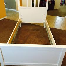 find more beautiful ikea hemnes bed frame white stain twin size