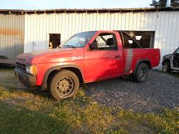 Nissan D21 Transmission Swap Truck: Update On The Red Truck - YouTube