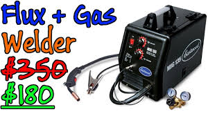 Best Welder Deal 2017, Eastwood MIG 135, Save $170, Flux And Gas, Powerful  And Affordable