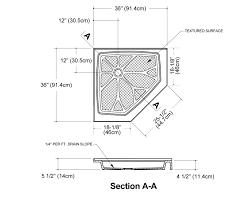 Bathroom Stall Dividers Dimensions by Corner Shower Dimensions Google Search Bedroom Bathroom Reno