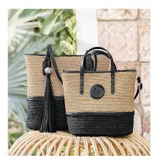 brighton new straw bags from madagascar milled