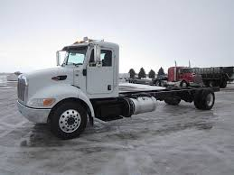 100 Truck Chassis 2014 Peterbilt 337 Single Axle Cab Paccar PX9
