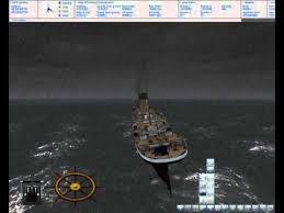 ship simulator 2008 titanic sinking fail youtube