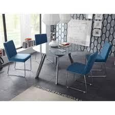 design sitzgruppe samiel mit glastisch ausziehbar 5 teilig