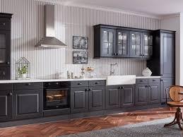 küche co kiel süd schwarz geht auch im landhaus stil wie