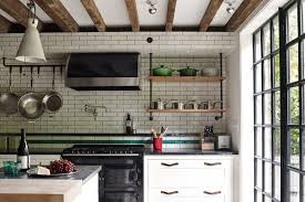 White Kitchen Design Ideas 2014 by New York Style Industrial Tiling Modern Kitchen Design Ideas