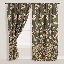 Amazon Bird of Paradise Pakshi Curtains Set of 2 World